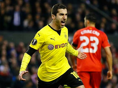 File picture of Henrikh Mkhitaryan. Reuters