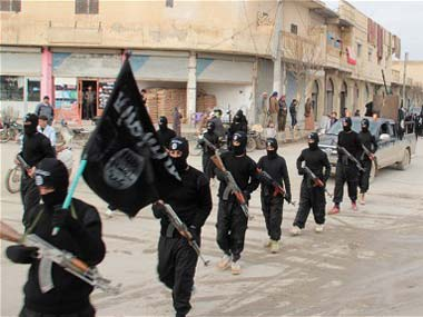 File image of IS fighters. Reuters
