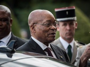 File photo of South African President Jacob Zuma. Reuters