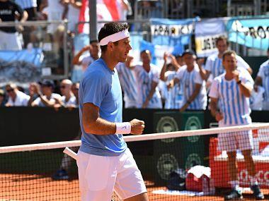 Juan Martin Del Potro. Davis Cup Facebook