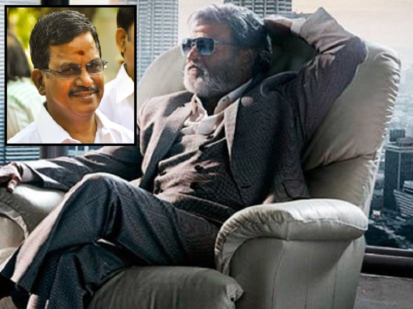Rajinikanth's 'Kabali' will release on 22 July; (inset) producer KS Thanu
