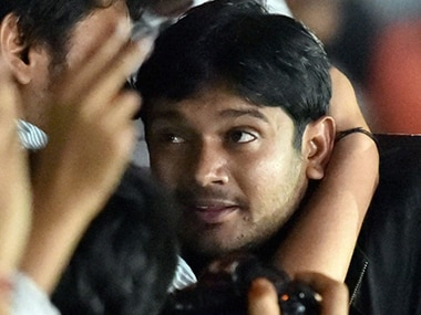 JNU leader Kanhaiya Kumar. Image source: News18