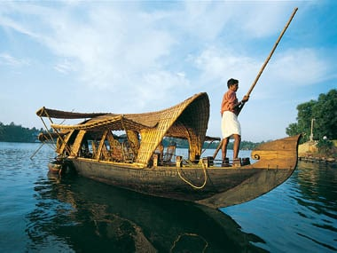 Pollution and overcrowding has made such idyllic images of the Kerala backwaters a thing of the past. File photo/Kerala Tourism