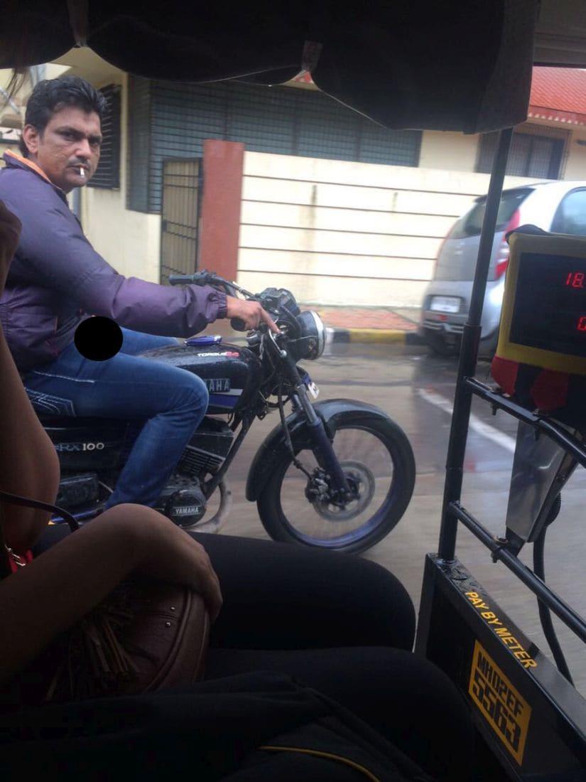The photo tweeted to Mumbai Police. Twitter/@ZChashteh