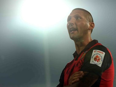Chennaiyin FC coach Marco Materazzi. ISL