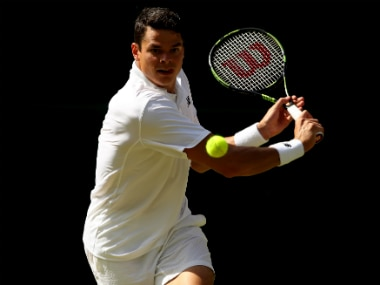 Milos Raonic finished as the runner-up in the Wimbledon 2016 men's singles. Getty Images