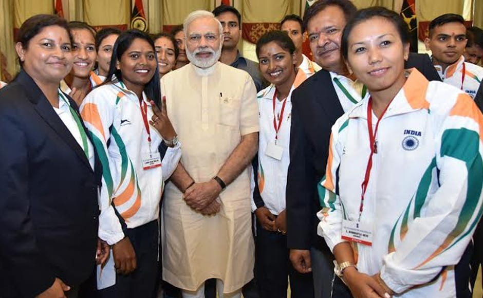 India will be sending its biggest ever contingent to the Olympics this year with more than 100 athletes having already qualified in 13 sporting disciplines. Photo: PIB/Twitter