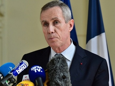 """French anti-terrorism prosecutor Francois Molins delivers a press conference at the courthouse of Nice on July 15, 2016, a day after a gunman smashed a truck into a crowd of revellers celebrating Bastille Day, killing at least 84 people. Ten children and teenagers were among those killed by a Tunisian-born man who drove a lorry into crowds at a Bastille Day fireworks display in Nice, Molins said on July 15. As well as the 84 dead, 202 people were hurt in Thursday night's attack, Molins told reporters, """"of which 10 were children and adolescents"""". / AFP PHOTO / GIUSEPPE CACACE"""