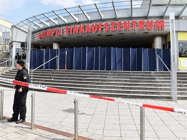 A shooting in front of the Olympia mall in Munich killed 10. AP