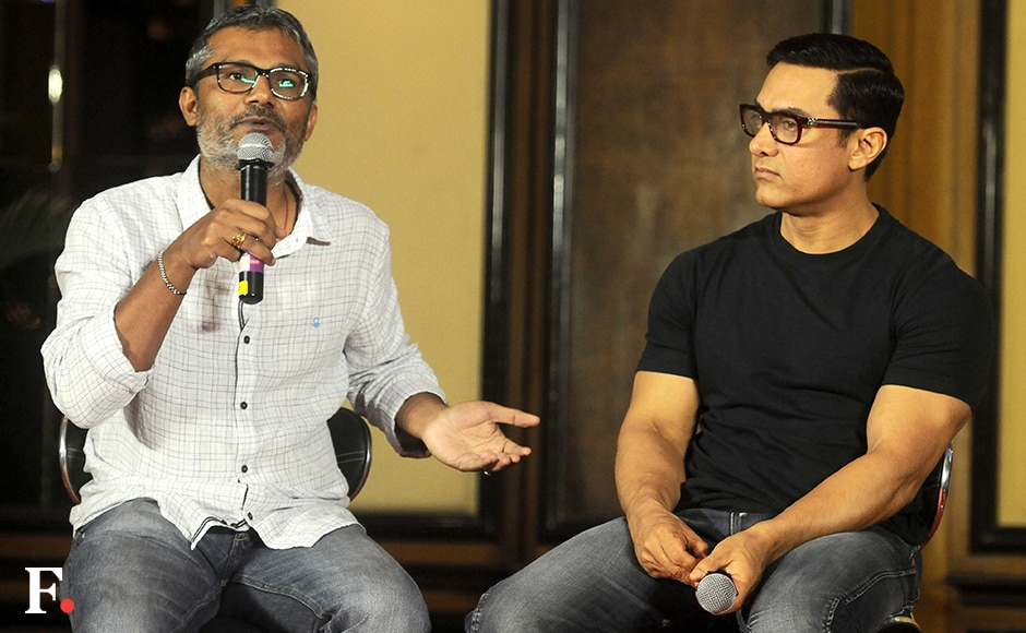 Director Nitesh Tiwari spoke about the physical transformation Aamir underwent for the role in 'Dangal'. Image by Sachin Gokhale/Firstpost