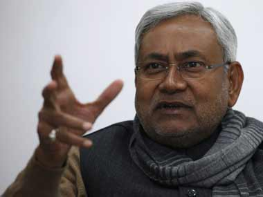 File image of Nitish Kumar. Reuters