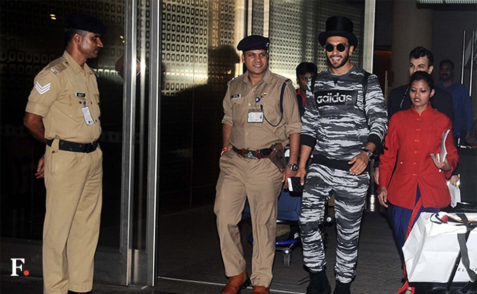 Welcome back, Ranveer. We missed you. Sachin Gokhale/Firstpost