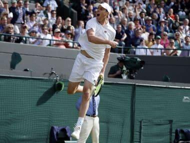 Sam Querrey stunned defending champion Novak Djokovic in the third round of Wimbledon 2016. AP