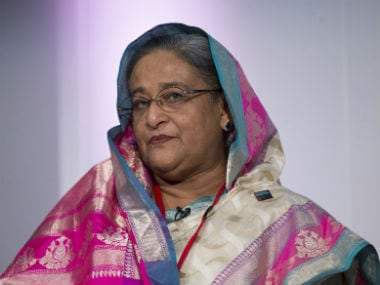 File image of Sheikh Hasina. Reuters