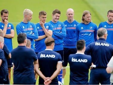 Iceland are about to play the biggest game of their footballing history. AP