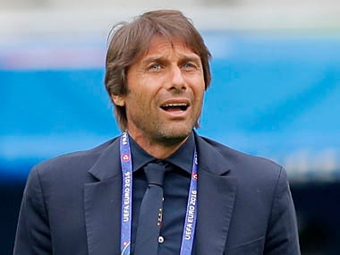 Italy coach Antonio Conte ahead of clash against Germany.AP