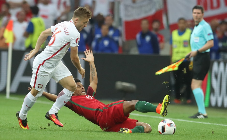 After a blistering start thanks to an early goal, Poland had the momentum till the equaliser. AP