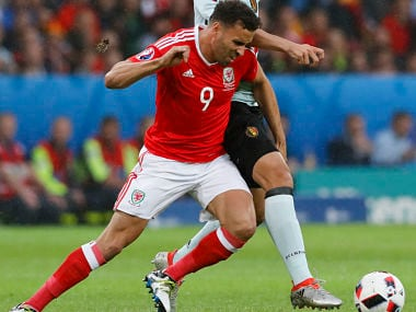 Wales' Hal Robson Kanu was deemed as the man of the match against Belgium. AP