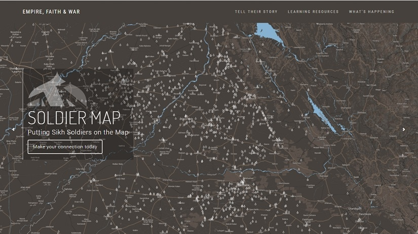 Screenshot of the soldier map. Photo: empirefaithwar.com
