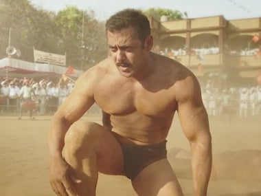 Salman Khan in a still from 'Sultan'. Screengrab from YouTube