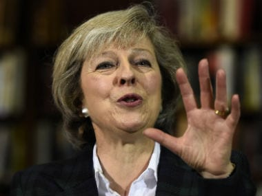 Theresa May. File photo. Reuters