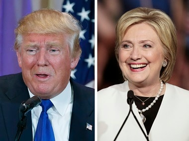 Presumptive Republican presidential candidate Donald Trump (left) and presumptive Democratic presidential candidate Hillary Clinton. Reuters