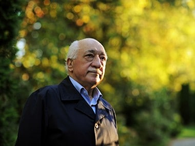"""Turkish Islamic preacher Fethullah Gulen is pictured at his residence in Saylorsburg, Pa. A lawyer for the Turkish government, Robert Amsterdam, said that """"there are indications of direct involvement"""" in the Friday, July 15, 2016, coup attempt of Fethullah Gulen, a Muslim cleric who is living in exile in Pennsylvania. He said he and his firm """"have attempted repeatedly to warn the U.S. government of the threat posed"""" by Gulen and his movement. (AP Photo/Selahattin Sevi, File)"""
