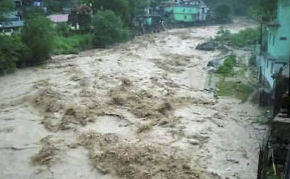 Flooding also was reported in many areas of Uttarakhand because the Alaknanda river rose above the danger-level mark. All major rivers in the hilly tracts were flooded. PTI