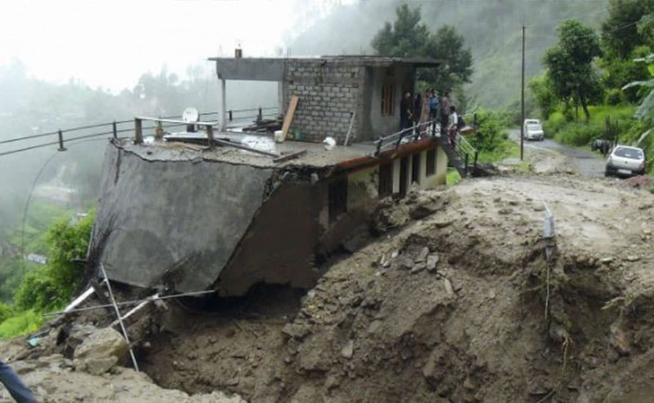 The Chamba-Rishikesh National Highway-94 got blocked in Bemunda due to landslide. A car fell into a gorge in Pauri, leaving two dead and four injured. The Thal-Munsyari road was cut-off and dozens of vehicles remained stranded on both sides. PTI