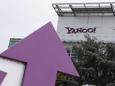 Yahoo building. AFP