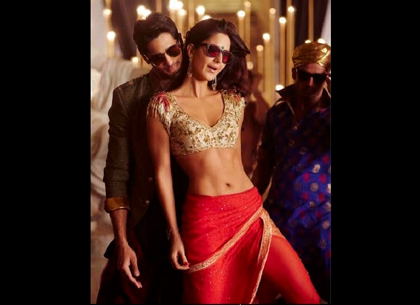 Sidharth Malhotra and Katrina kaif in 'Kala Chashma' from Baar Baar Dekho