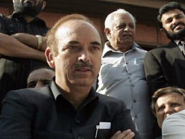 Ghulam Nabi Azad. Reuters file image