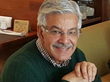 File image of Pakistan defence minister. Twitter @KhawajaMAsif
