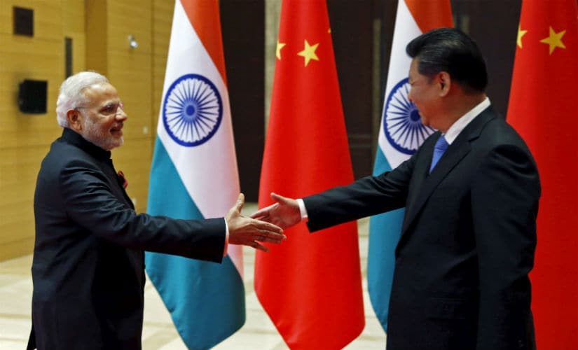 Prime Minister Narendra Modi and Chinese President Xi Jinping. Reuters