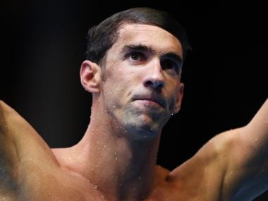 Michael Phelps. Getty