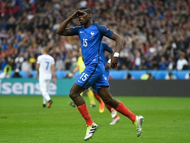 Paul Pogba. Getty Images