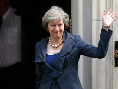 Theresa May. Reuters