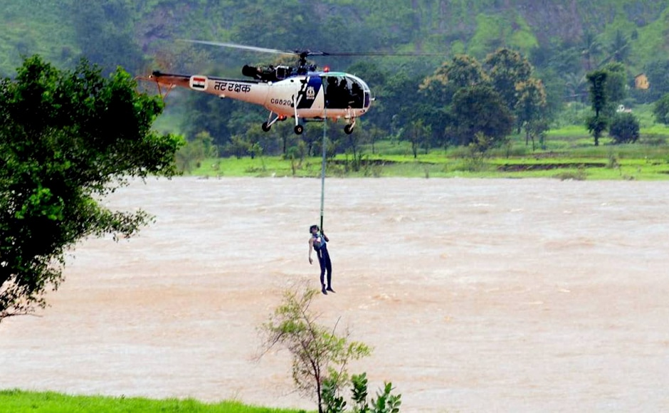Four NDRF teams comprising 115 personne and expert divers are deployed in the rescue ops. The Coast Guards and the Navy have joined the rescue operation. PTI