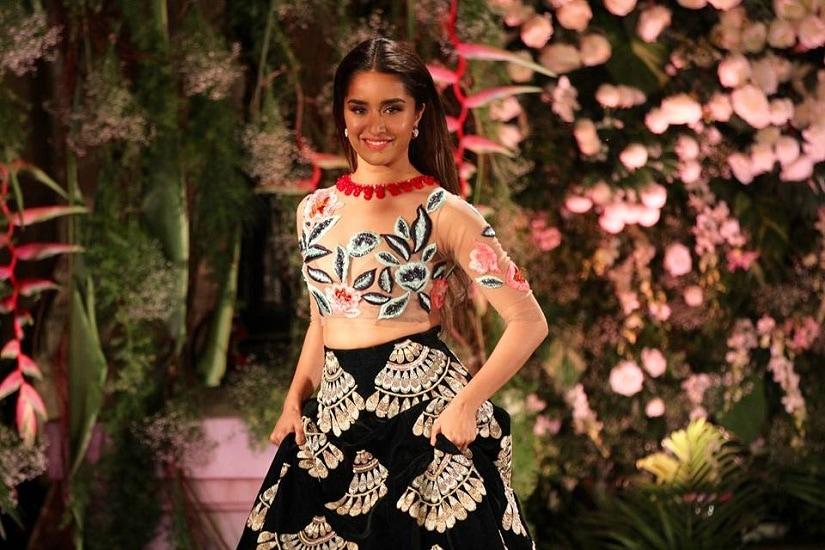 Shraddha Kapoor. Image courtesy: Lakme Fashion Week on Facebook