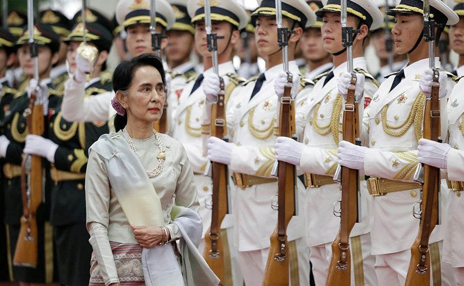 The visit that concludes on 21 August, is Suu Kyi'sfirst overseas visit to a country outside the Association of Southeast Asian Nations (ASEAN) following her party's win in the country's general elections in December 2015. Reuters