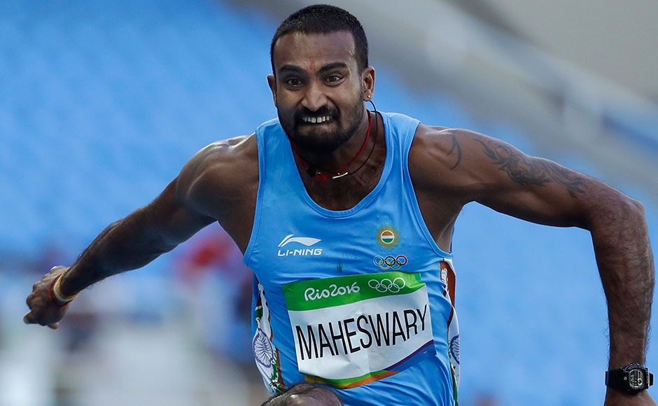 India's Renjith Maheshwary failed to qualify for the final round of men's triple jump after he finished 30th in the qualification round. AP