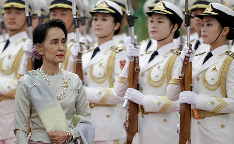 The visit comes barely a month ahead of Suu Kyi's scheduled visit to the US, and is being seen as a positive move towards boosting bilateral relations with China, who had backed the Burmese military junta that kept Suu Kyi in home detention for 15 years. Reuters