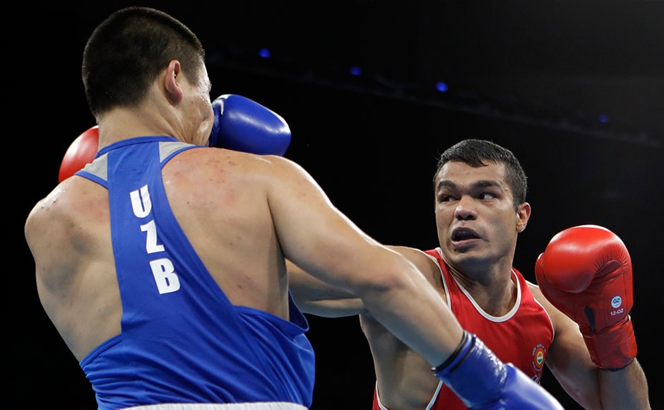 India's boxing campaign at Rio Olympics came to an end after Vikas Krishan Yadav lost 0-3 to Bektemir Melikuziev of Uzbekistan in the quarter-finals of the men's middleweight (75-kg) category. AP