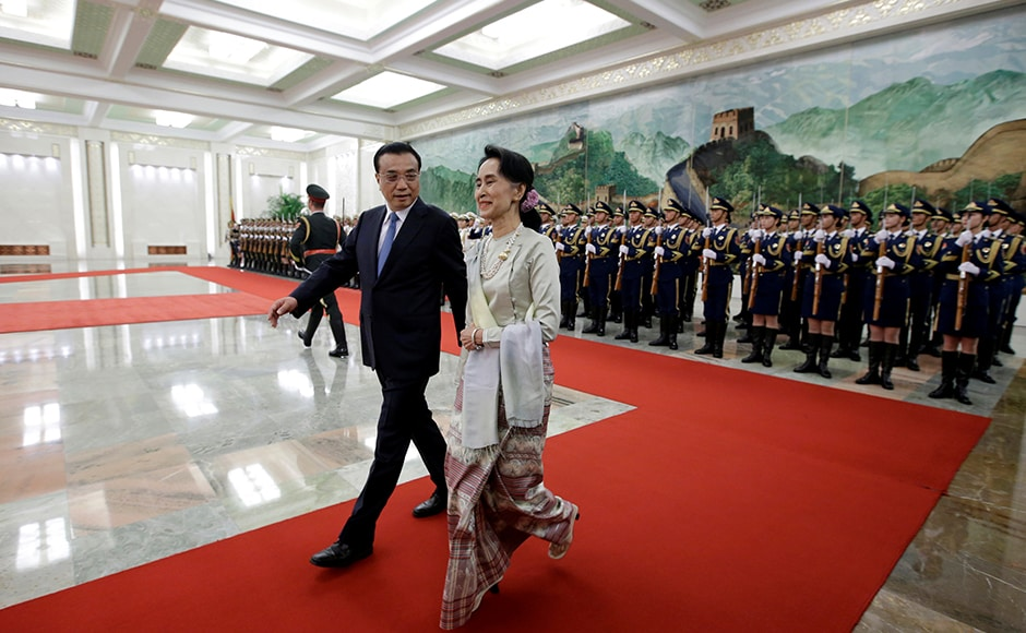 Suu Kyi had earlier travelled to China in June 2015, months before her party came to power and she was named foreign minister and minister of the President's Office. Reuters