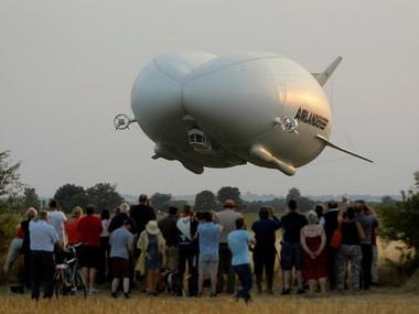 Airlander 10, world's largest aircraft makes its maiden flight