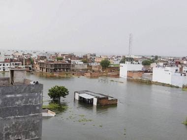 Allahabad and other parts in Uttar pradesh, Bihar region have been inundated with floods for over a week. PTI