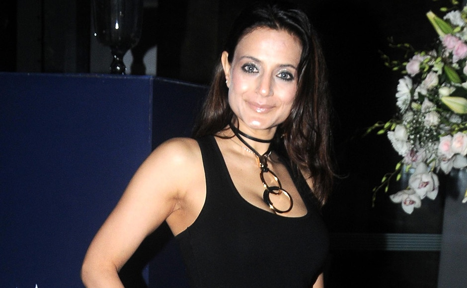 Actress Ameesha Patel spotted at the show. Sachin Gokhale/Firstpost