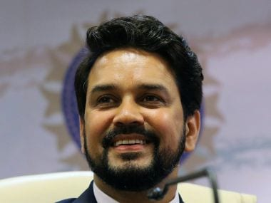 File photo of BCCI president Anurag Thakur. Reuters