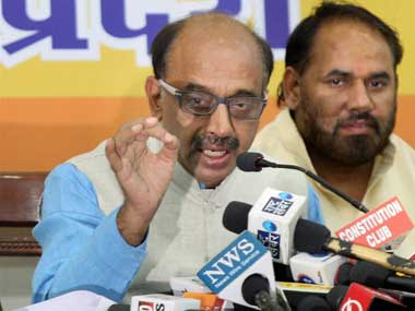 A file photo of Indian sports minister Vijay Goel. PTI