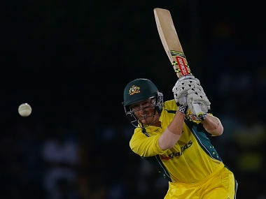 George Bailey in action against Sri Lanka in the 3rd ODI. AP